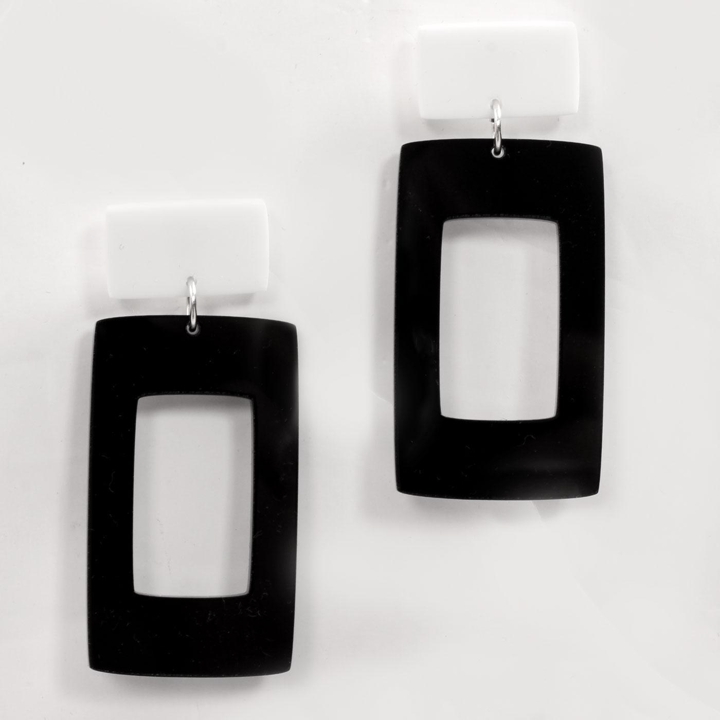 +ADA BINKS for MADCAP ENGLAND Rectangle Earrings B