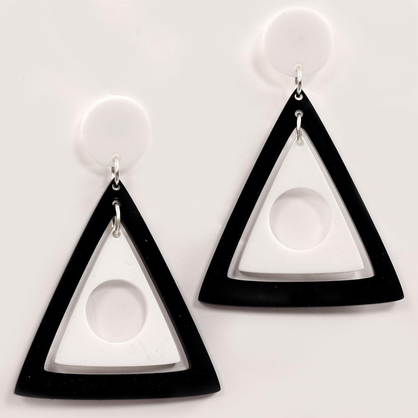 +ADA BINKS for MADCAP ENGLAND Triangles Earrings B