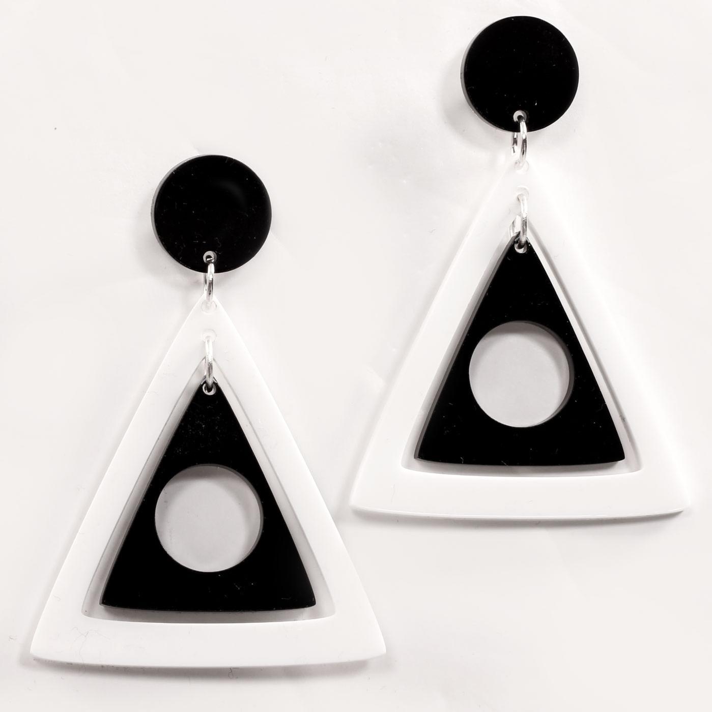 +ADA BINKS for MADCAP ENGLAND Triangles Earrings W