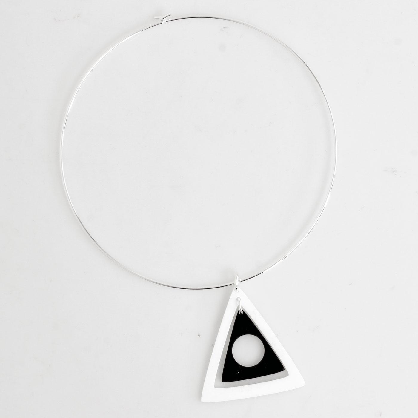 ADA BINKS for MADCAP ENGLAND Triangles Choker W