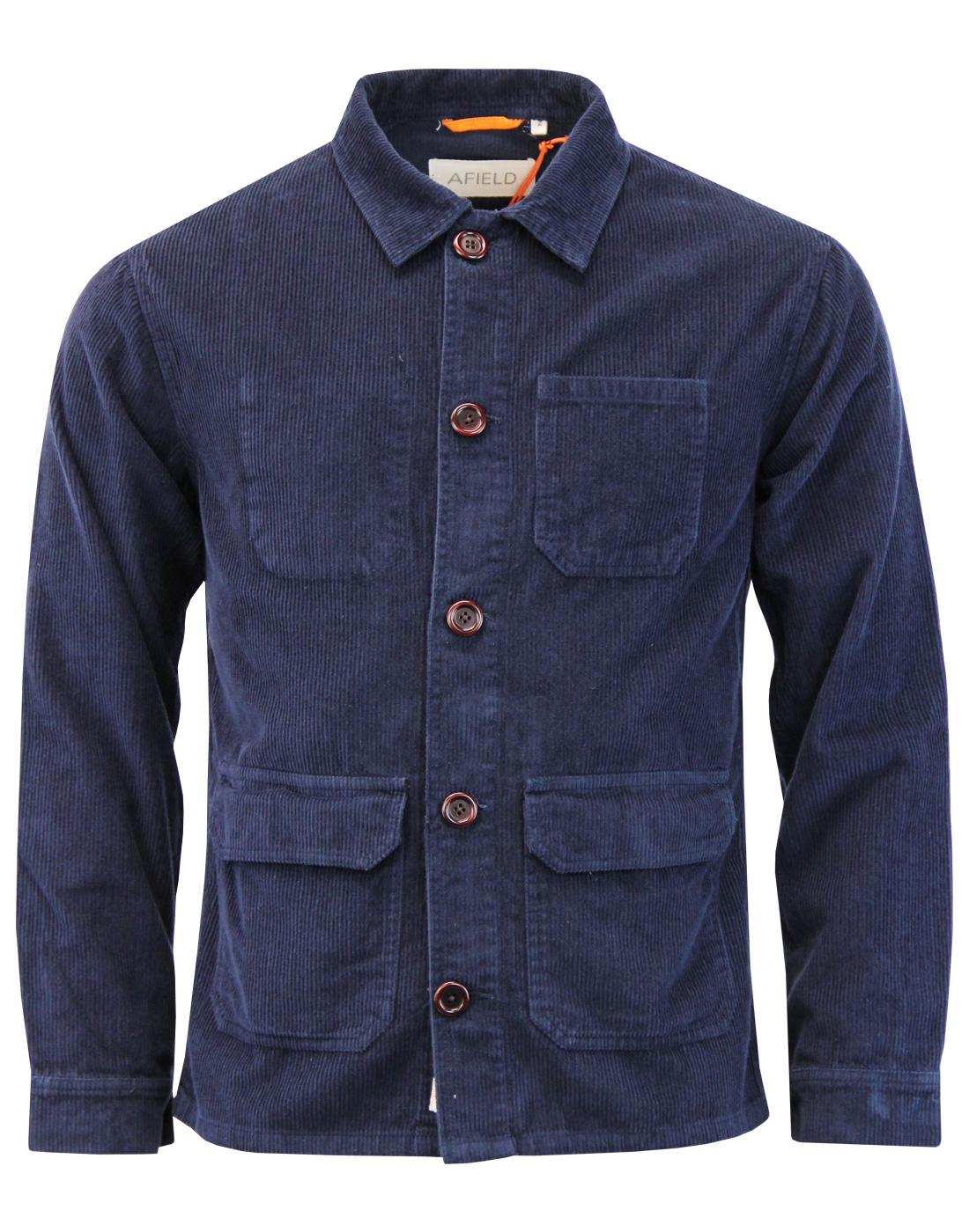 Porter AFIELD Retro Mod Corduroy Overshirt Jacket