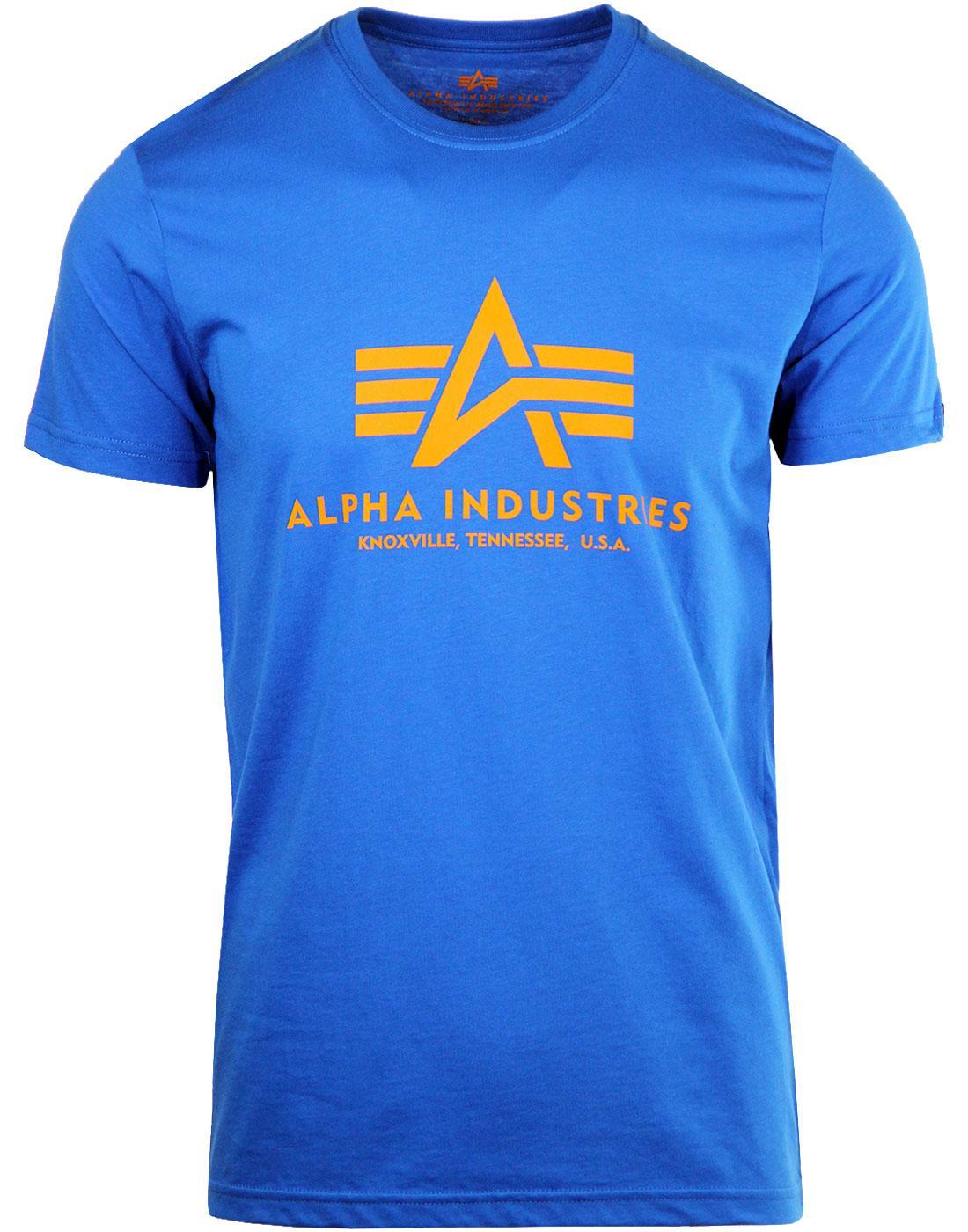 ALPHA INDUSTRIES Men's Retro Basic Logo Tee BL