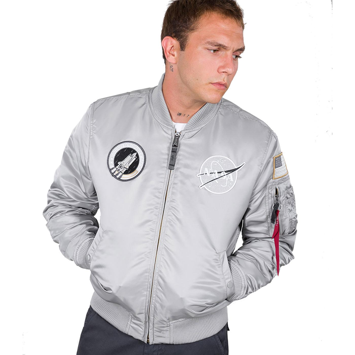 Nasa MA-1 VF ALPHA INDUSTRIES Mod Bomber Jacket S