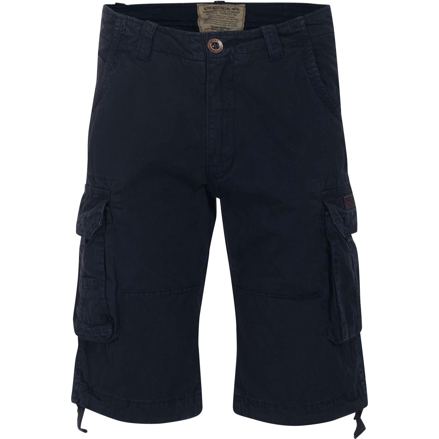 Jet Shorts ALPHA INDUSTRIES Retro Cargo Shorts RB