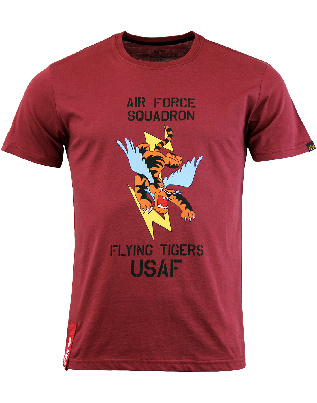 ALPHA INDUSTRIES Flying Tiger Indie Graphic Tee