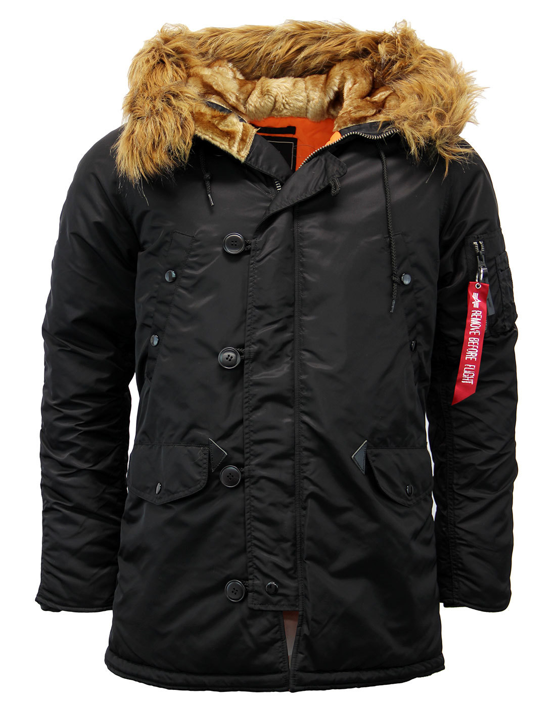 N3B Vintage Fit ALPHA INDUSTRIES Snorkel Parka (B)