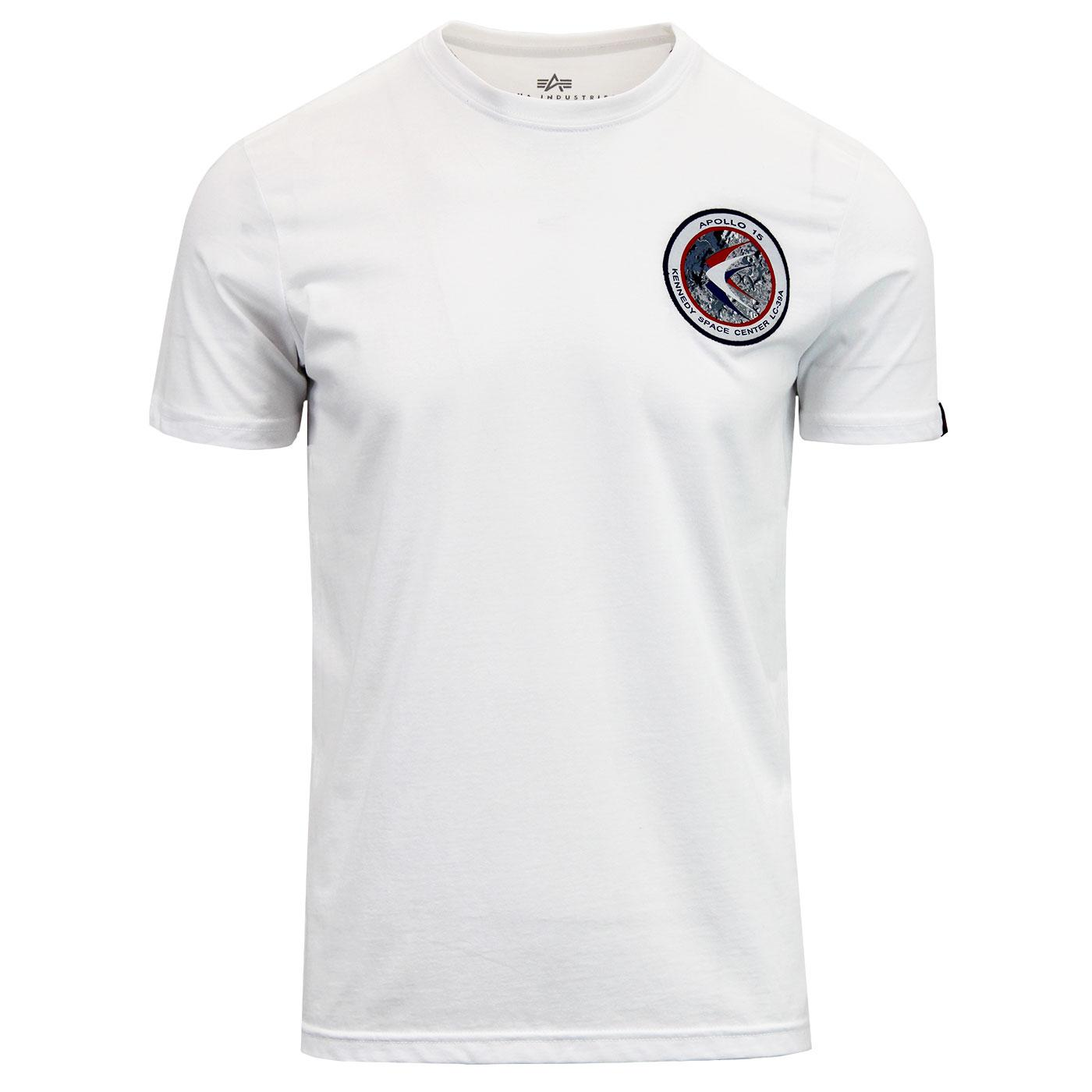 Apollo 15 ALPHA INDUSTRIES 70s mission Badge Tee W