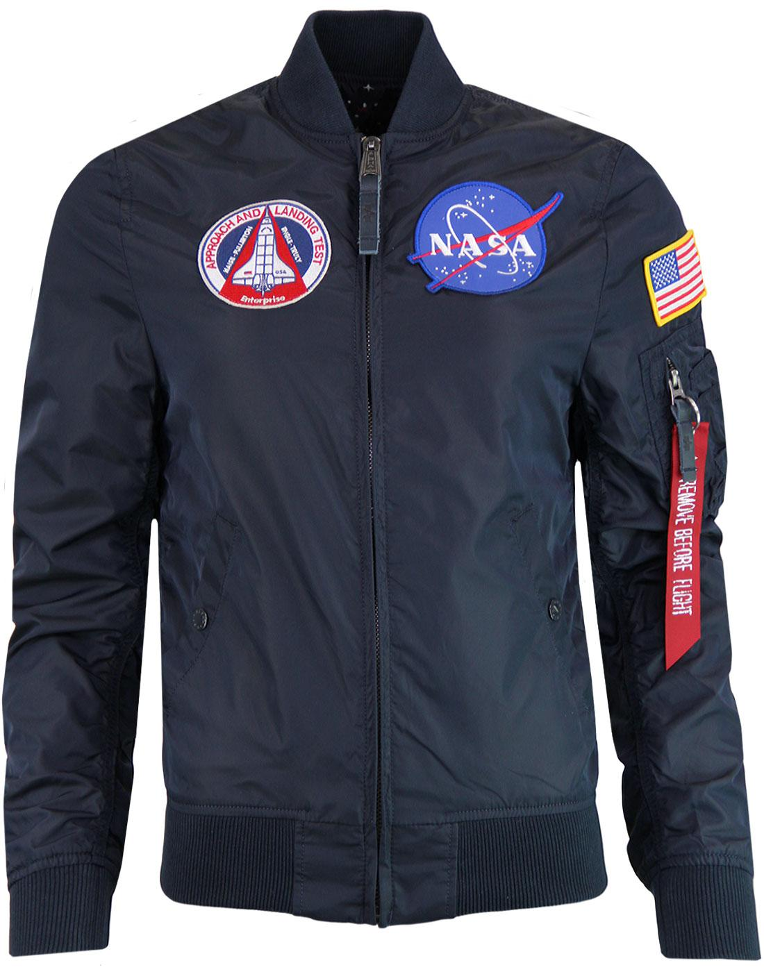 ALPHA INDUSTRIES MA1 TT NASA Rev Wmn Bomber Jacket