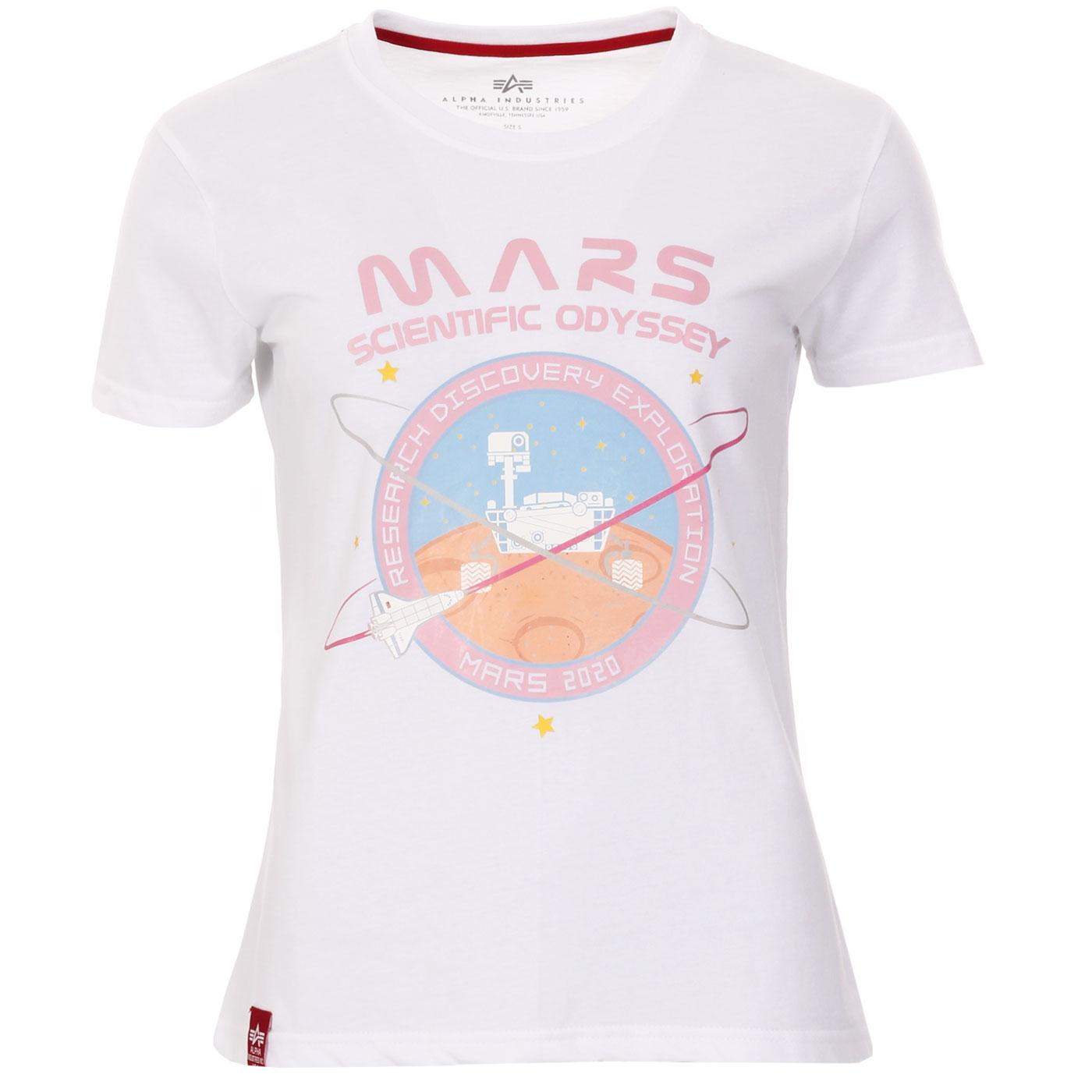Mission To Mars ALPHA INDUSTRIES Retro Space Tee W