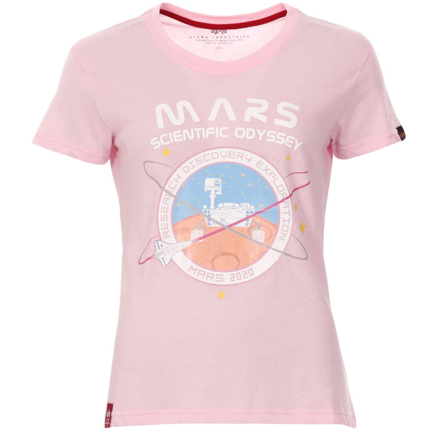 Mission To Mars ALPHA INDUSTRIES Retro Space Tee P