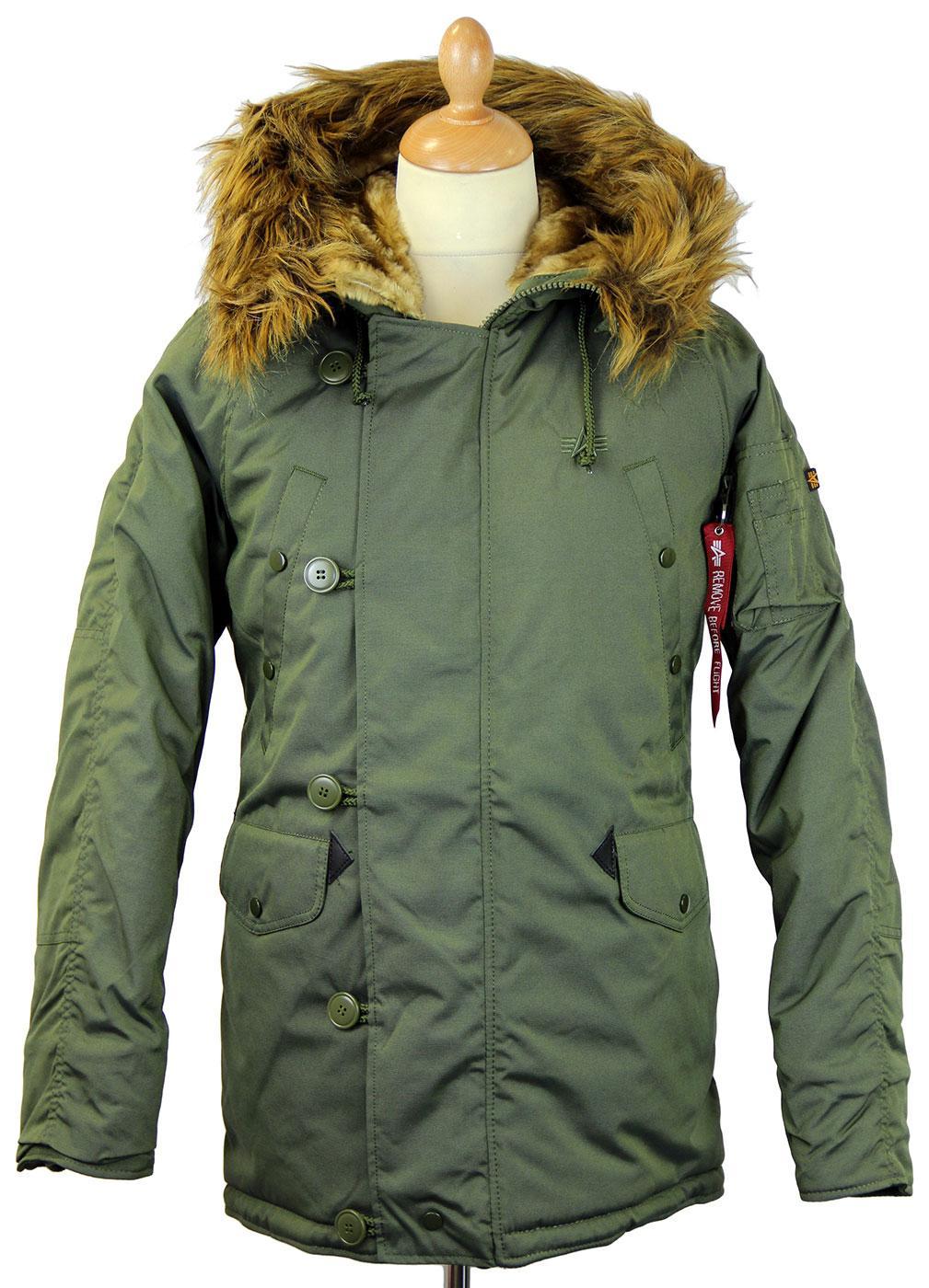 Explorer Fur Hood Parka Green