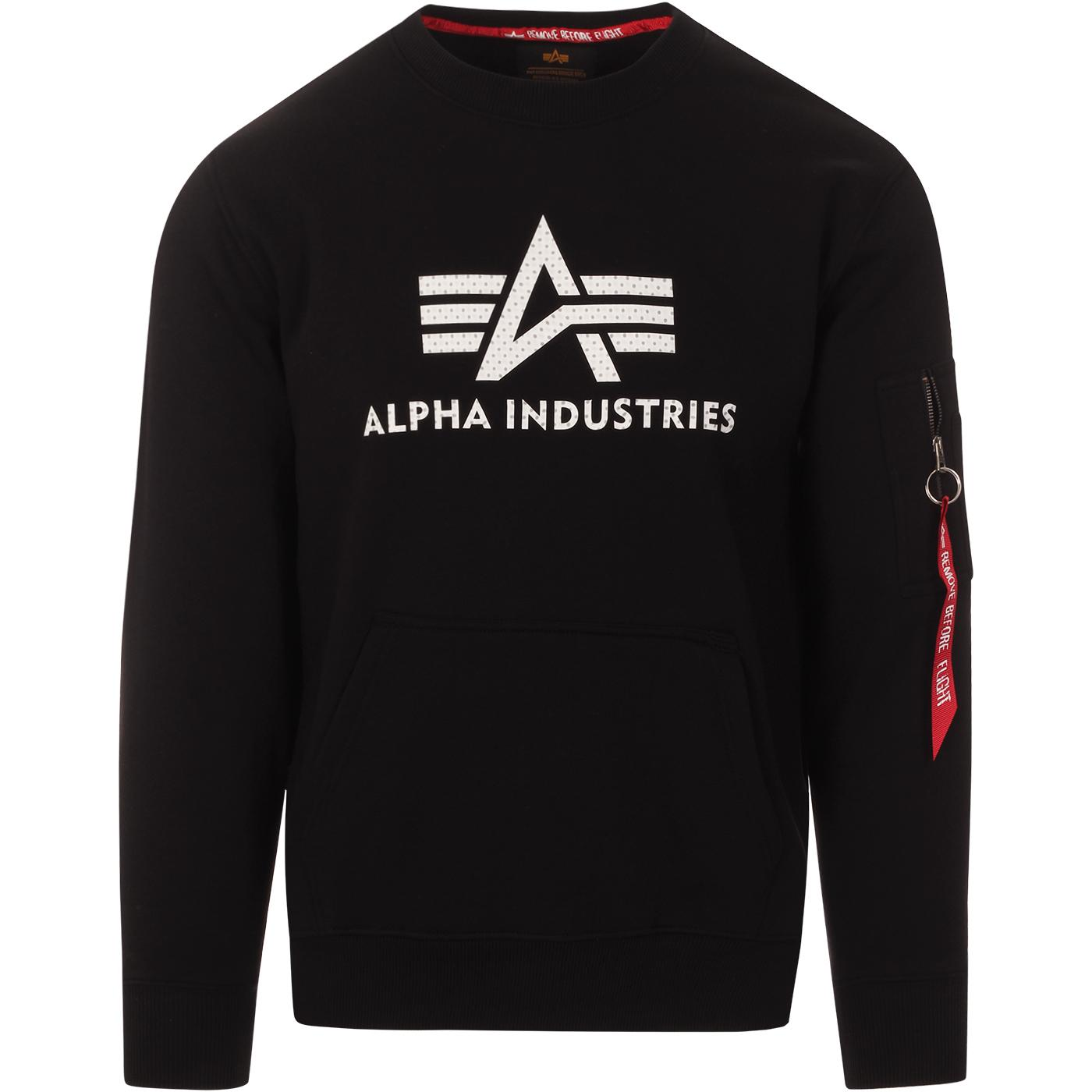 ALPHA INDUSTRIES Men's 3D Logo Sweatshirt (B)