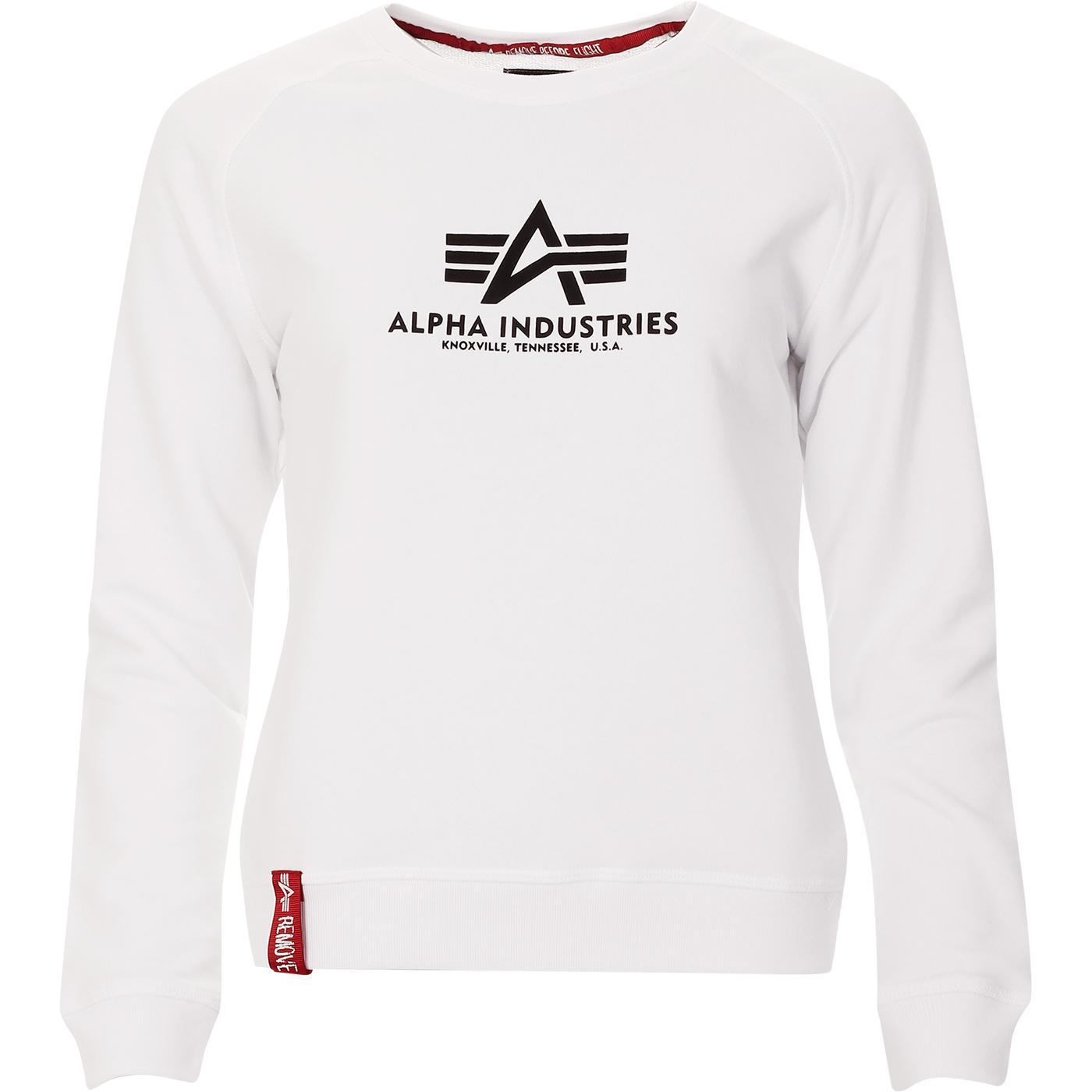 ALPHA INDUSTRIES Women's Retro Logo Sweatshirt (W)