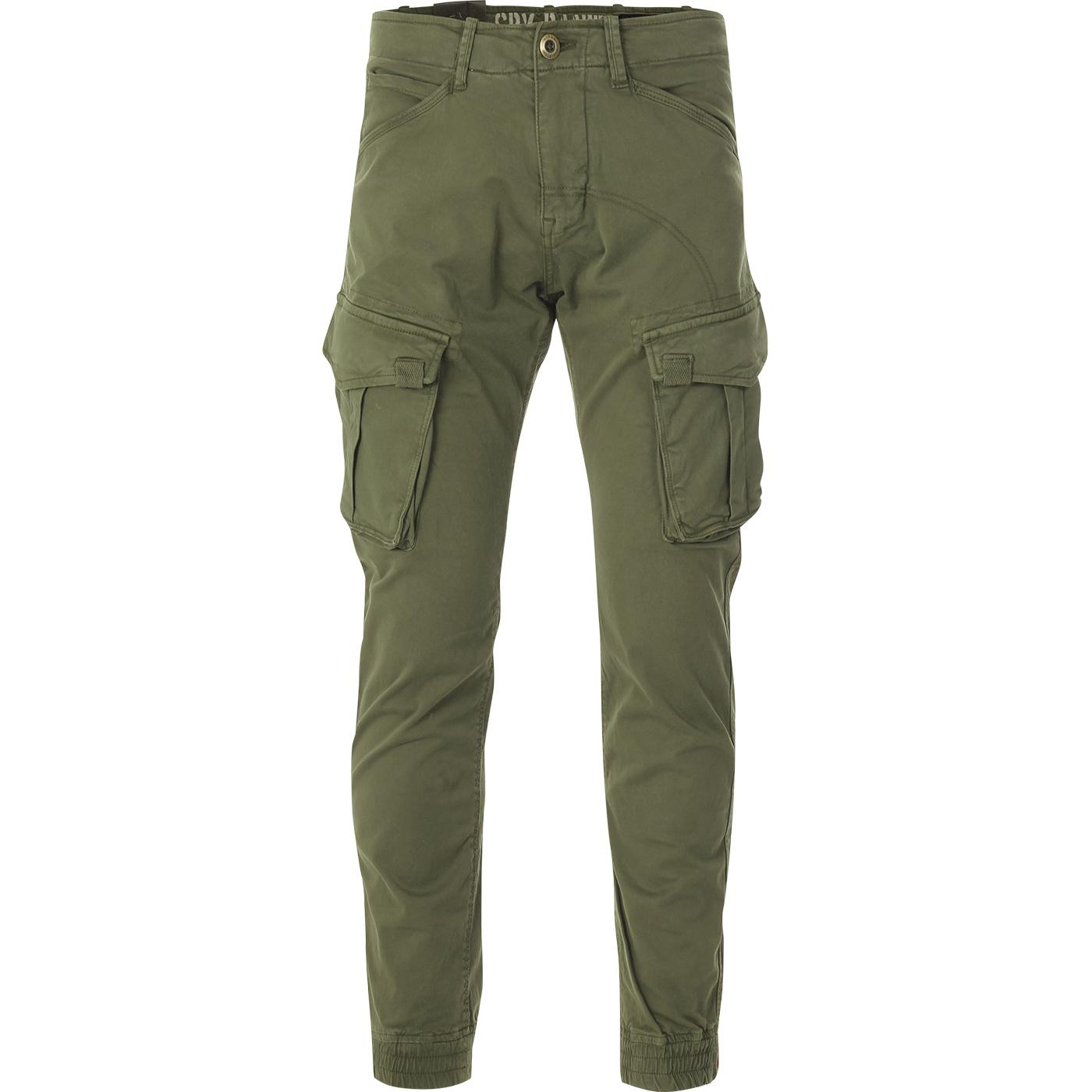 ALPHA INDUSTRIES Tapered Fit Cargo Pants (DO)