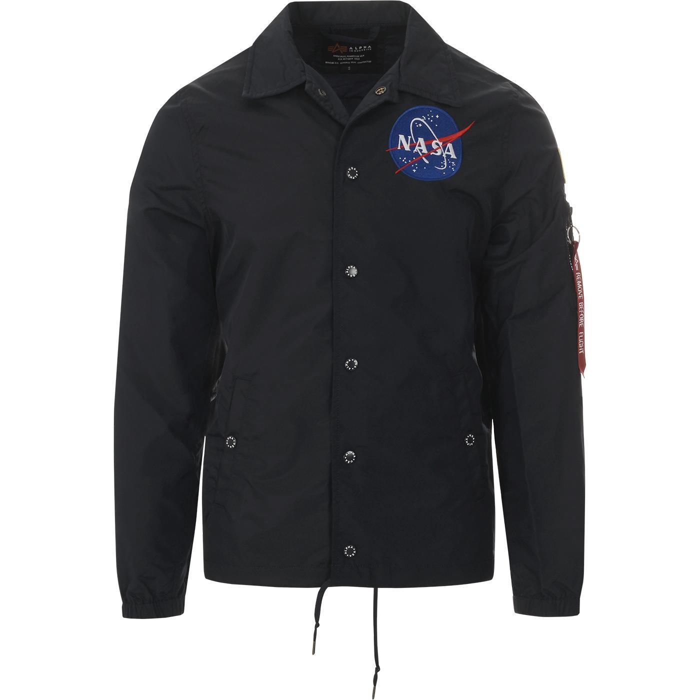 ALPHA INDUSTRIES x NASA Retro Coaches Jacket (RB)