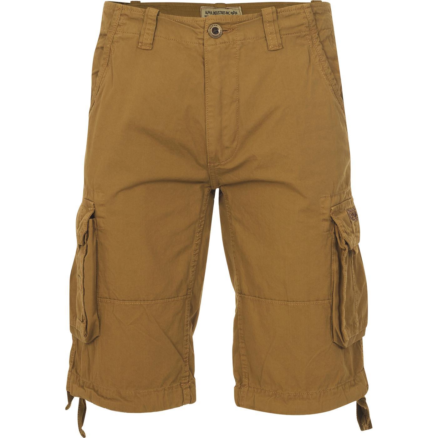 Jet Shorts ALPHA INDUSTRIES Retro Cargo Shorts (K)