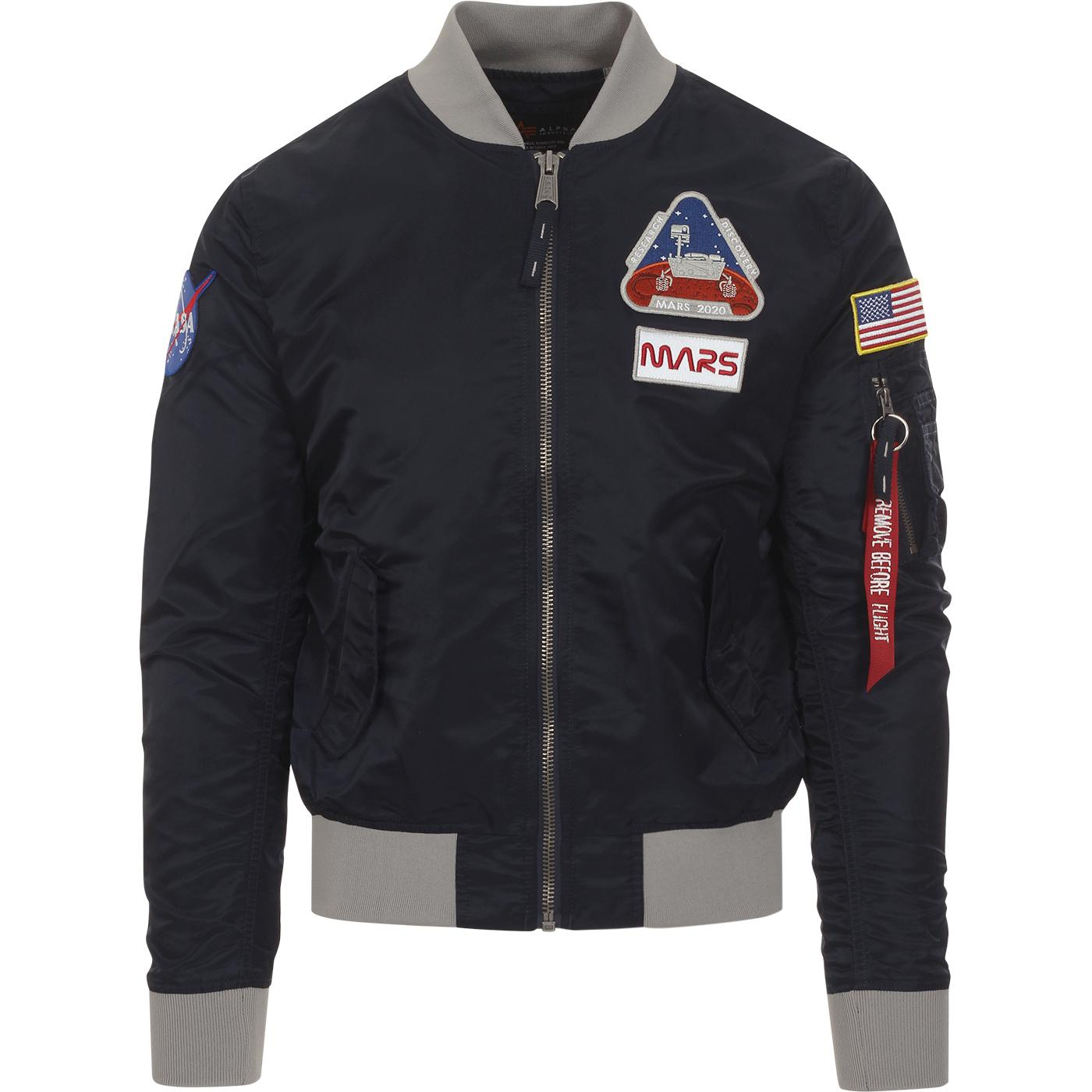MA-1 LW ALPHA INDUSTRIES NASA Mars Bomber Jacket