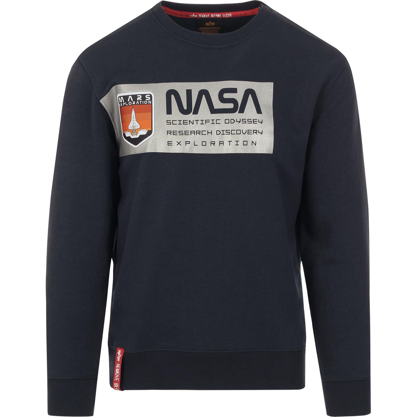 ALPHA INDUSTRIES Mars NASA Reflective Sweater