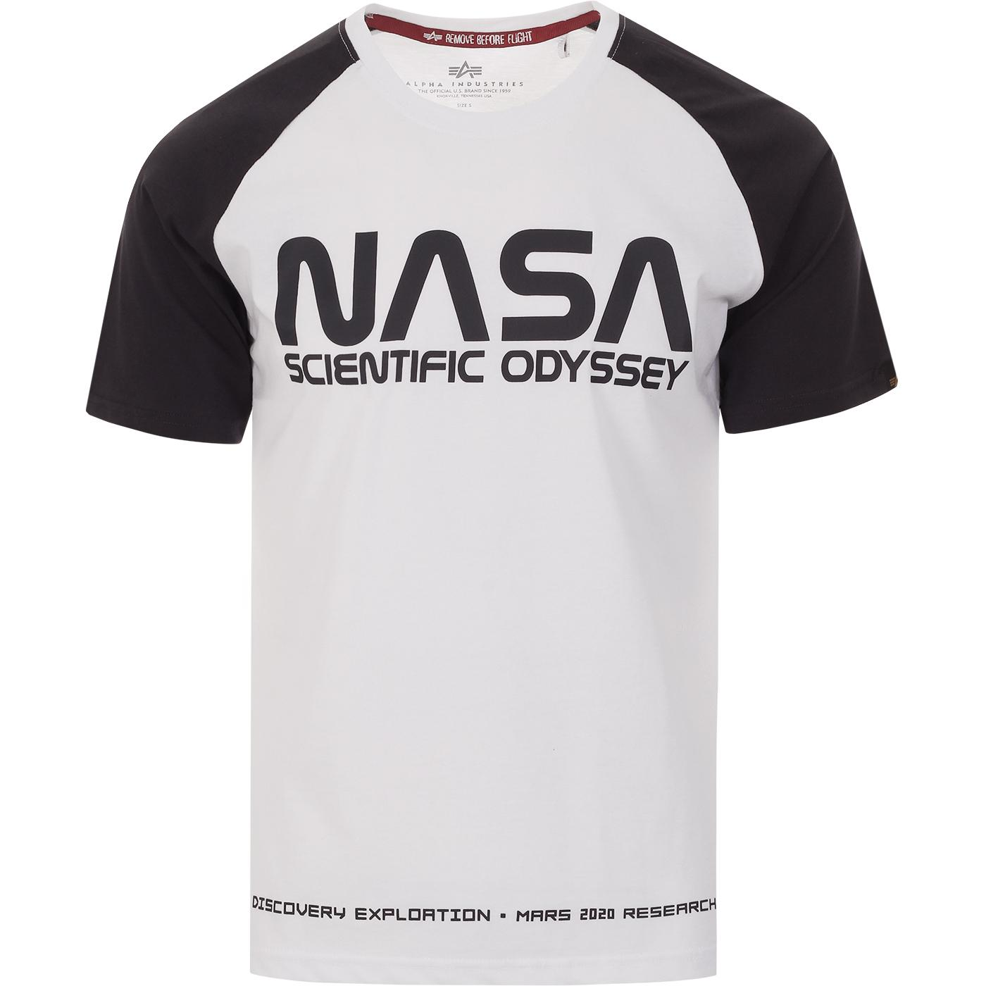 ALPHA INDUSTRIES x NASA Odyssey Raglan Tee (IG)