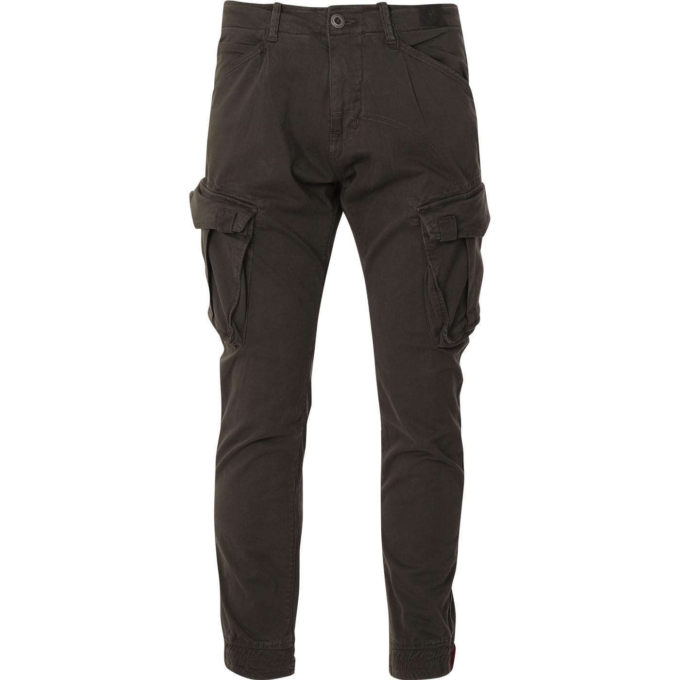 ALPHA INDUSTRIES Tapered Fit Cargo Pants (GB)