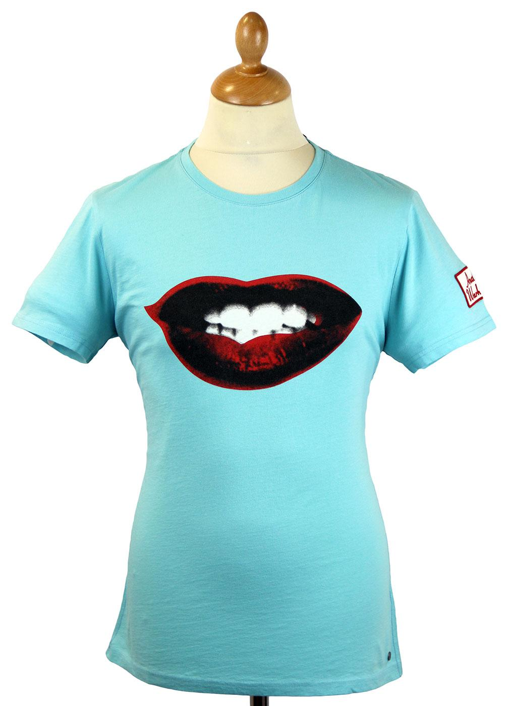 Kiss Andy Warhol by Pepe Jeans Marilyn Lips Tee