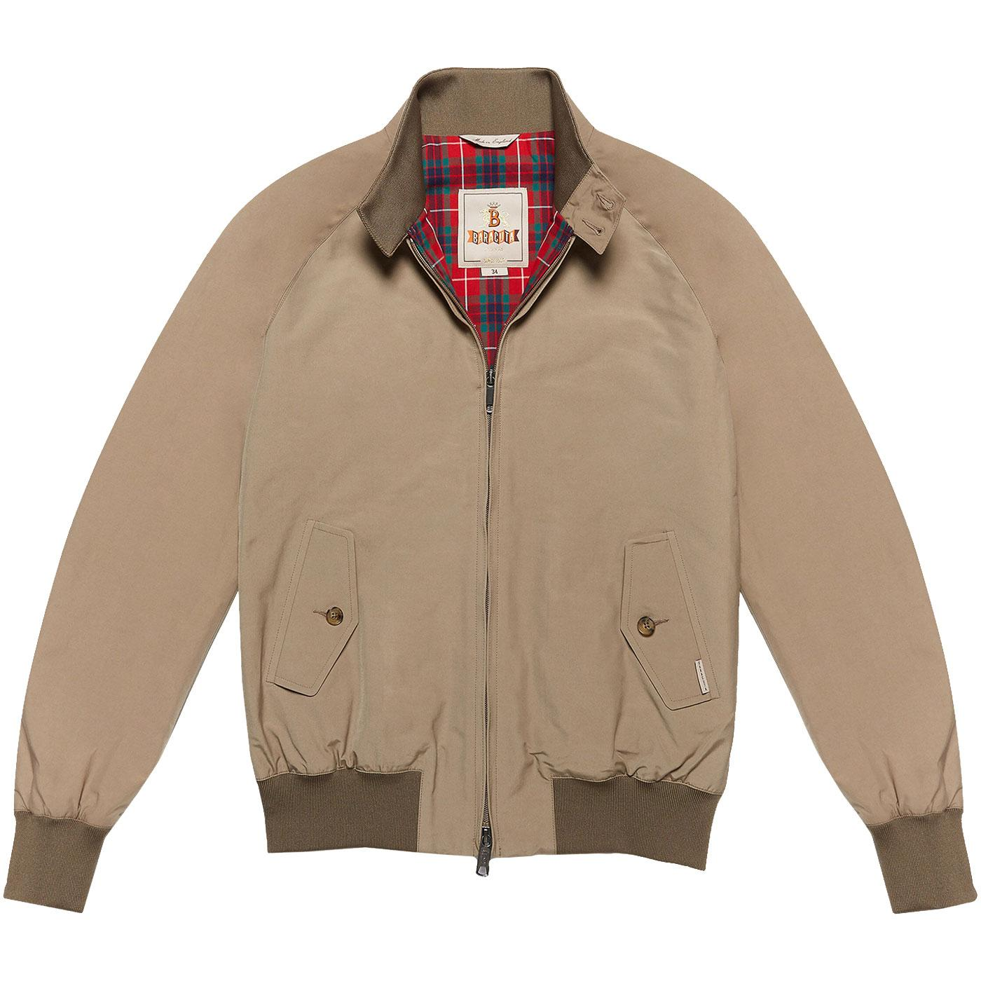 BARACUTA G9 Archive Made In England Harrington TAN
