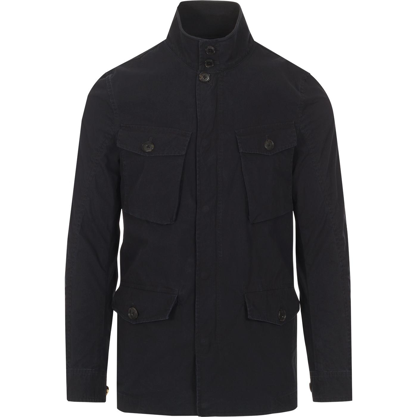 BARACUTA Iconic Wash Military Field Jacket (MB)