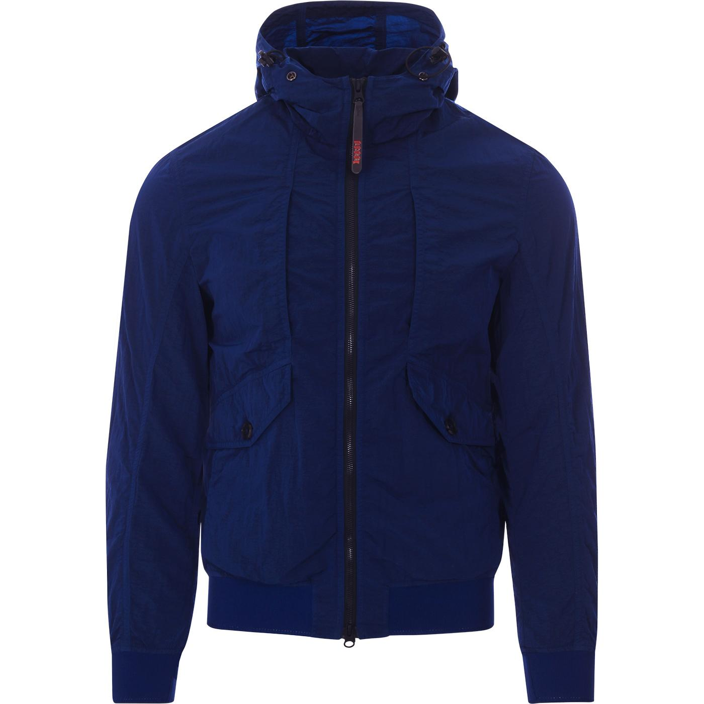 BARACUTA Four Pocket Garment Dyed Hooded Jacket I