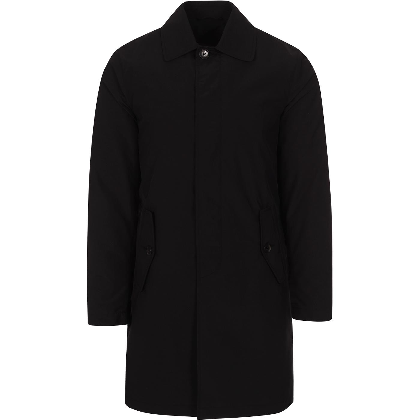 BARACUTA G10 Detachable Lining Raincoat (Black)