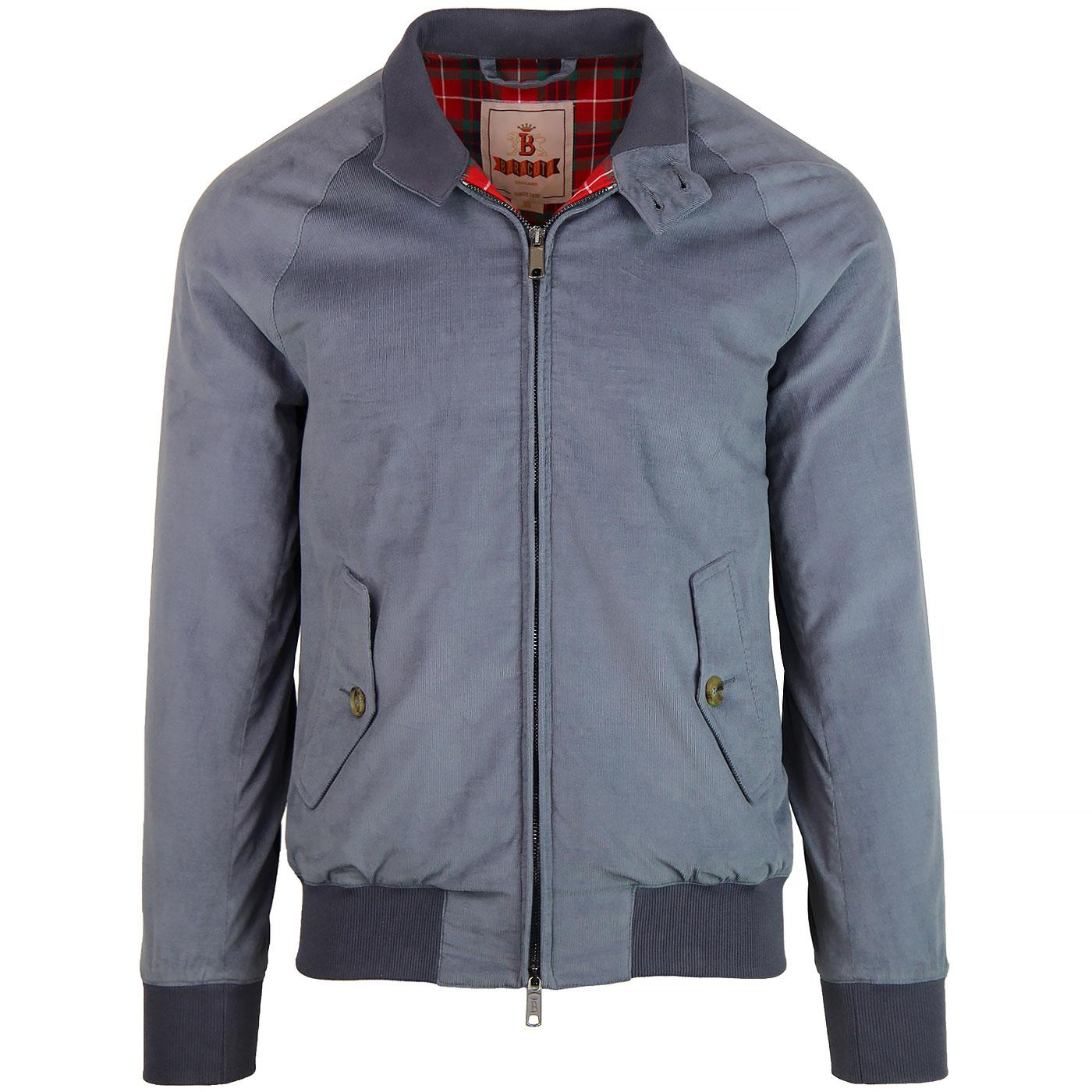 BARACUTA G9 Authentic Fit Cord Harrington (Cloud)