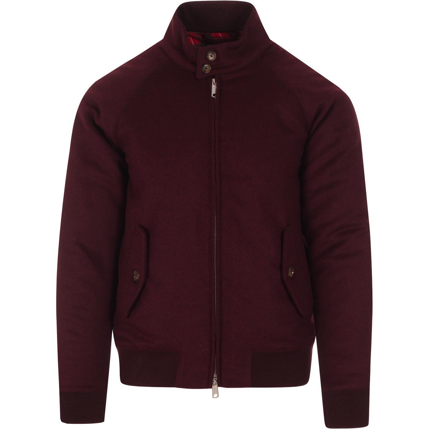 BARACUTA G9 Melton Mod Harrington Jacket (GW)