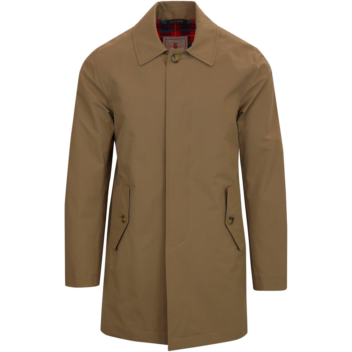 BARACUTA G10 Made in England Mac Raincoat (Tan)