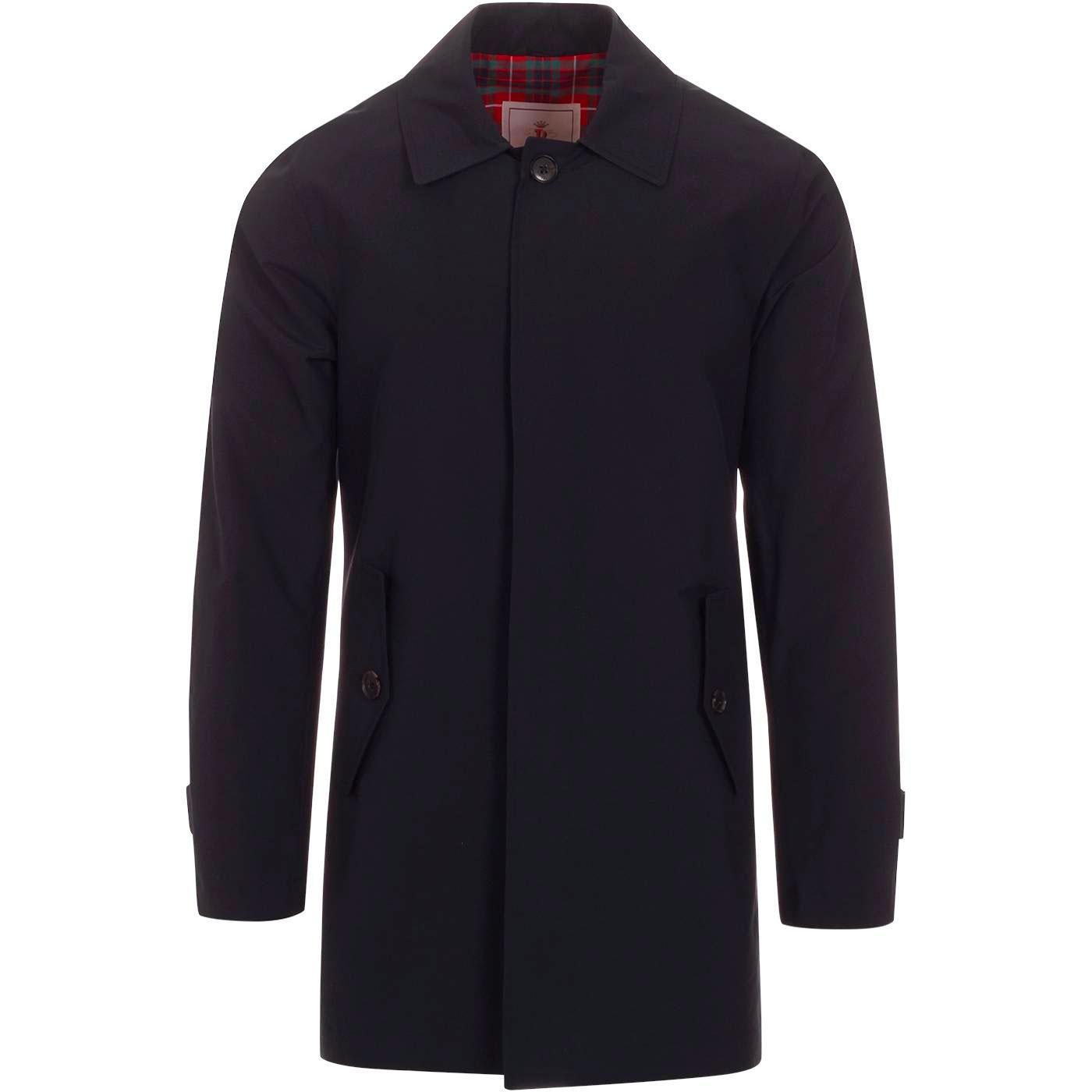 BARACUTA Made in England G10 Raincoat (Dark Navy)