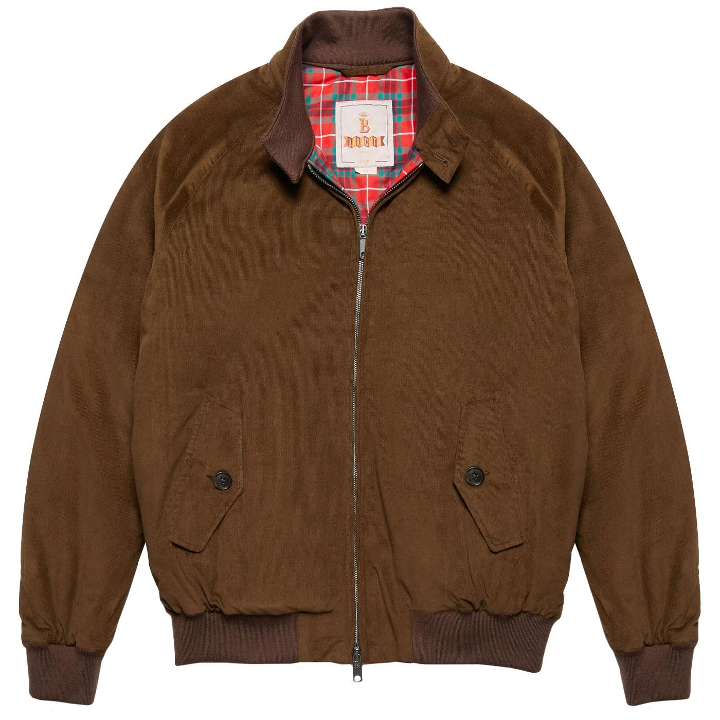 BARACUTA G9 Winter Needle Cord Padded Harrington O