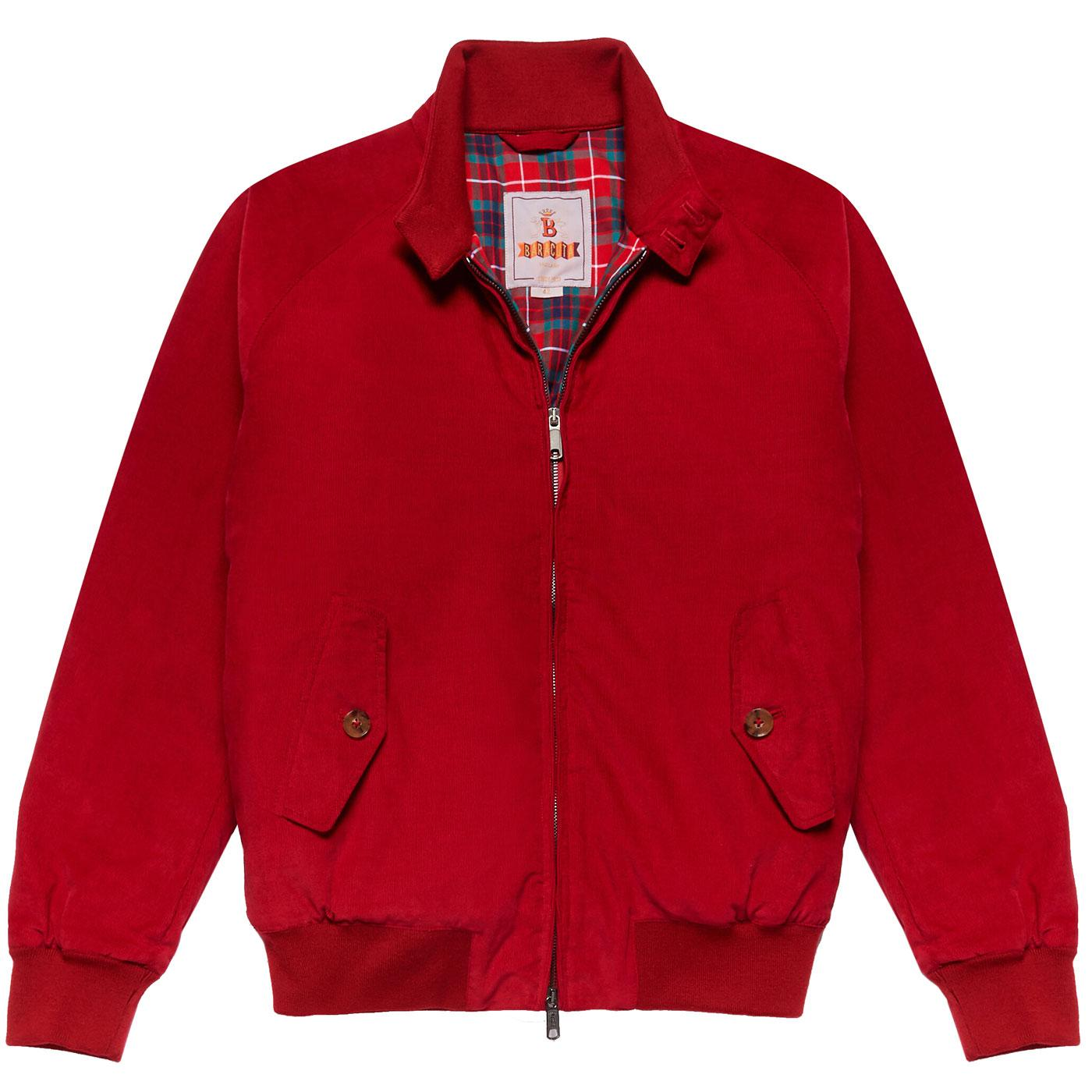 BARACUTA G9 Winter Needle Cord Padded Harrington R