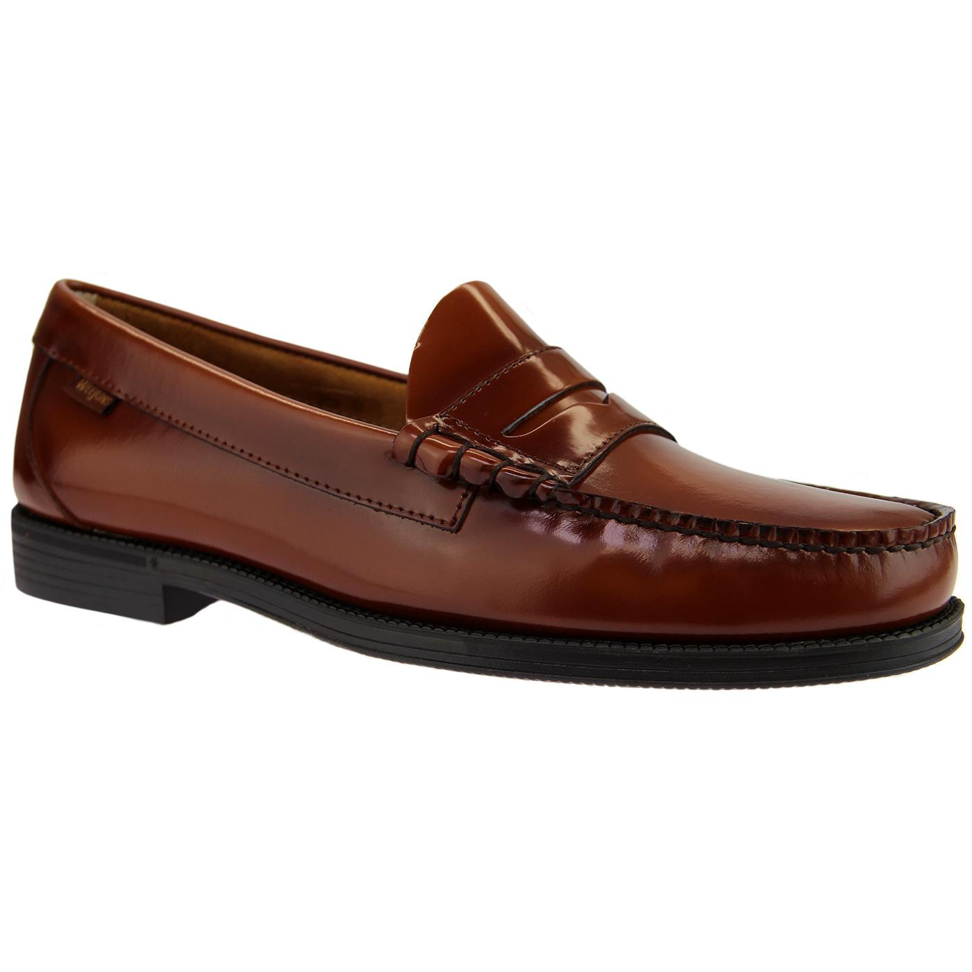 Larson Easy BASS WEEJUNS Mod 60's Penny Loafers MB