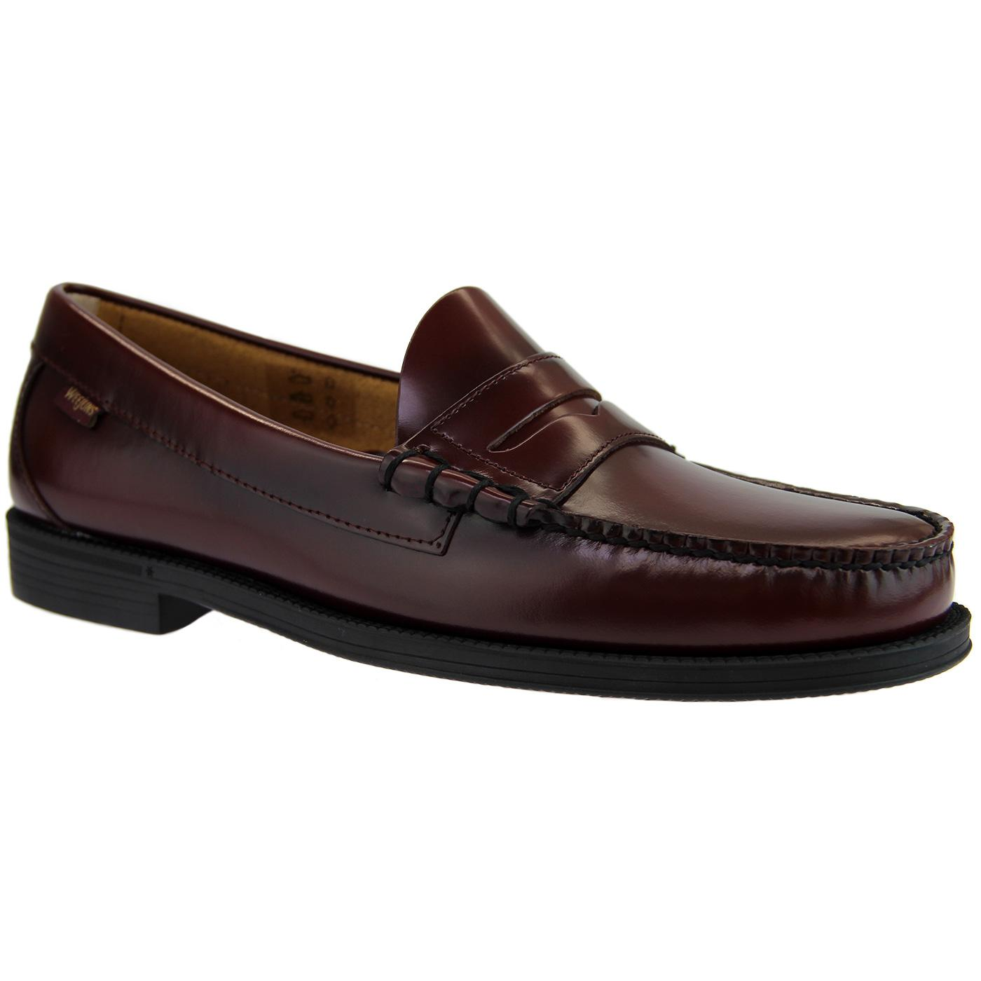 Larson Easy BASS WEEJUNS Mod 60's Penny Loafers W