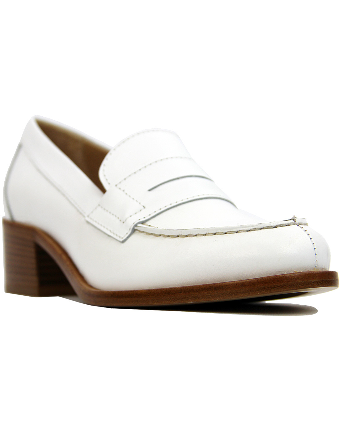 Chic BASS WEEJUNS Womens Retro 60s Heel Loafers