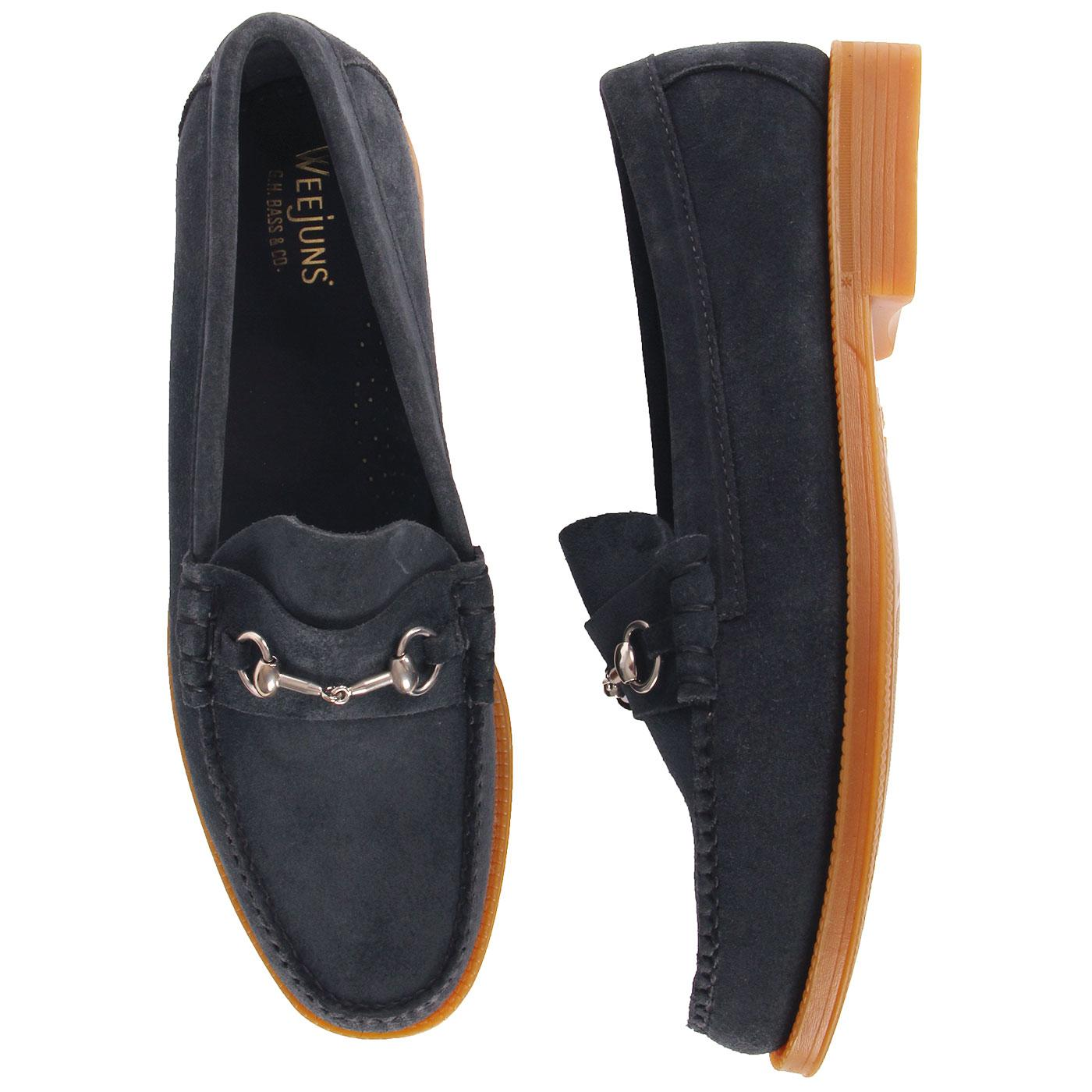 BASS WEEJUNS Lincoln Easy Weejun Suede