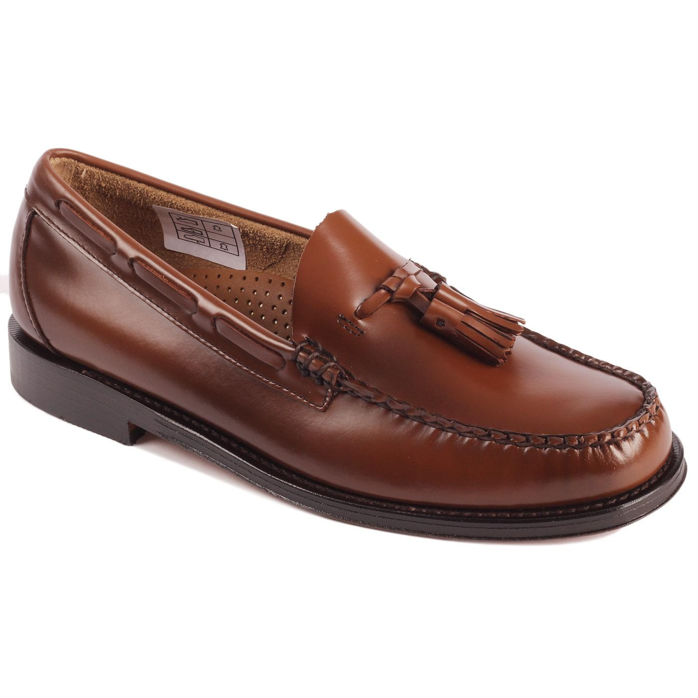 Heritage Larkin BASS WEEJUNS Tassel Loafers BROWN