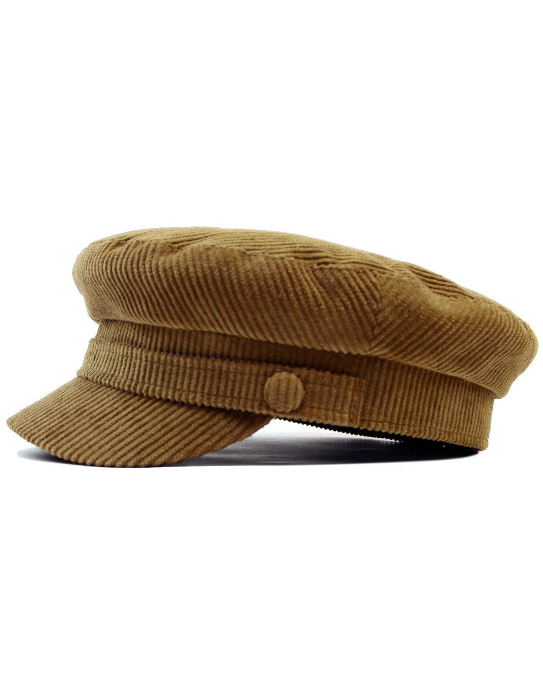 Beatle MADCAP ENGLAND Retro Cord Lennon Hat (F)