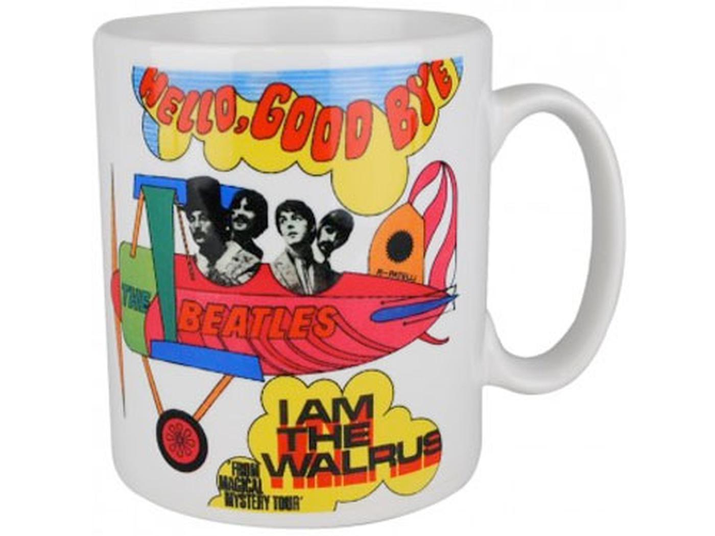 Hello Goodbye BEATLES Retro 60s Boxed Mug