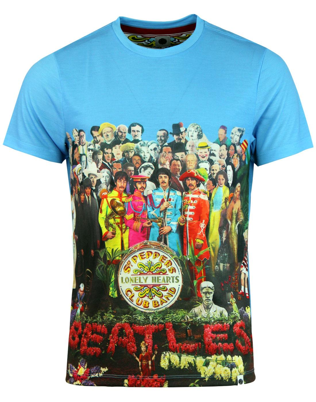 PRETTY GREEN x THE BEATLES Lonely Hearts T-Shirt
