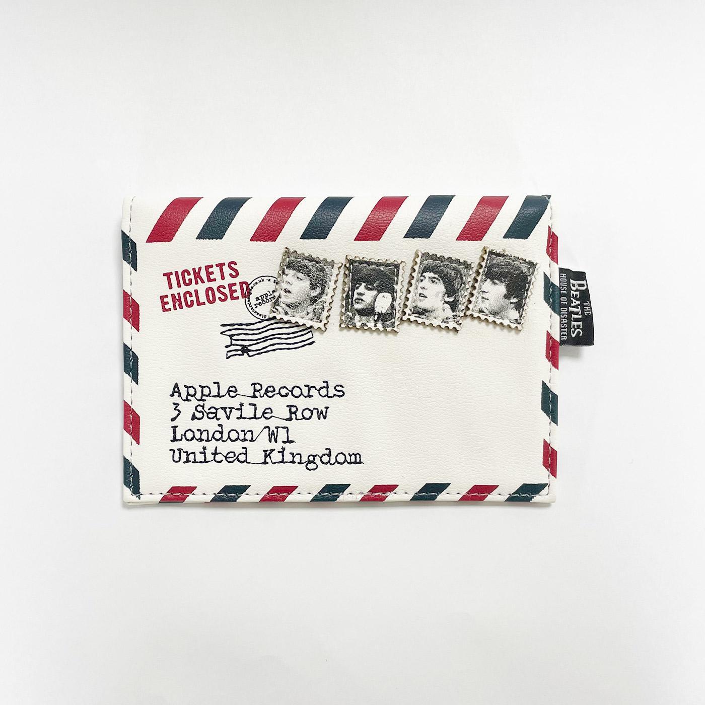 Beatles Ticket To Ride Envelope Retro Purse Wallet