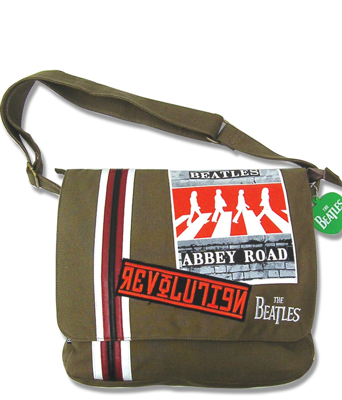 Apple BEATLES Abbey Road Canvas Retro 60s Bag