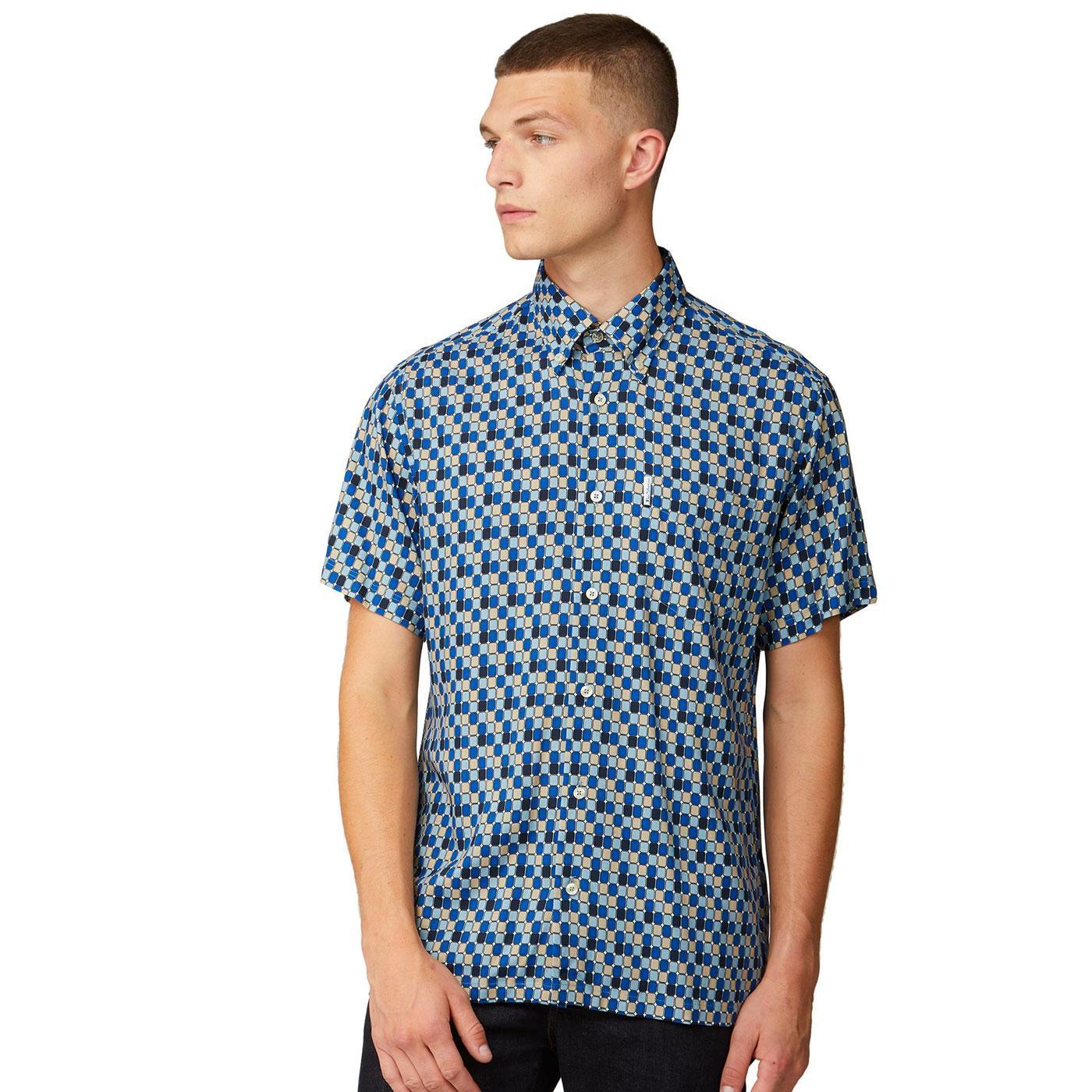 BEN SHERMAN ARCHIVE 90s Retro Short Sleeve Shirt