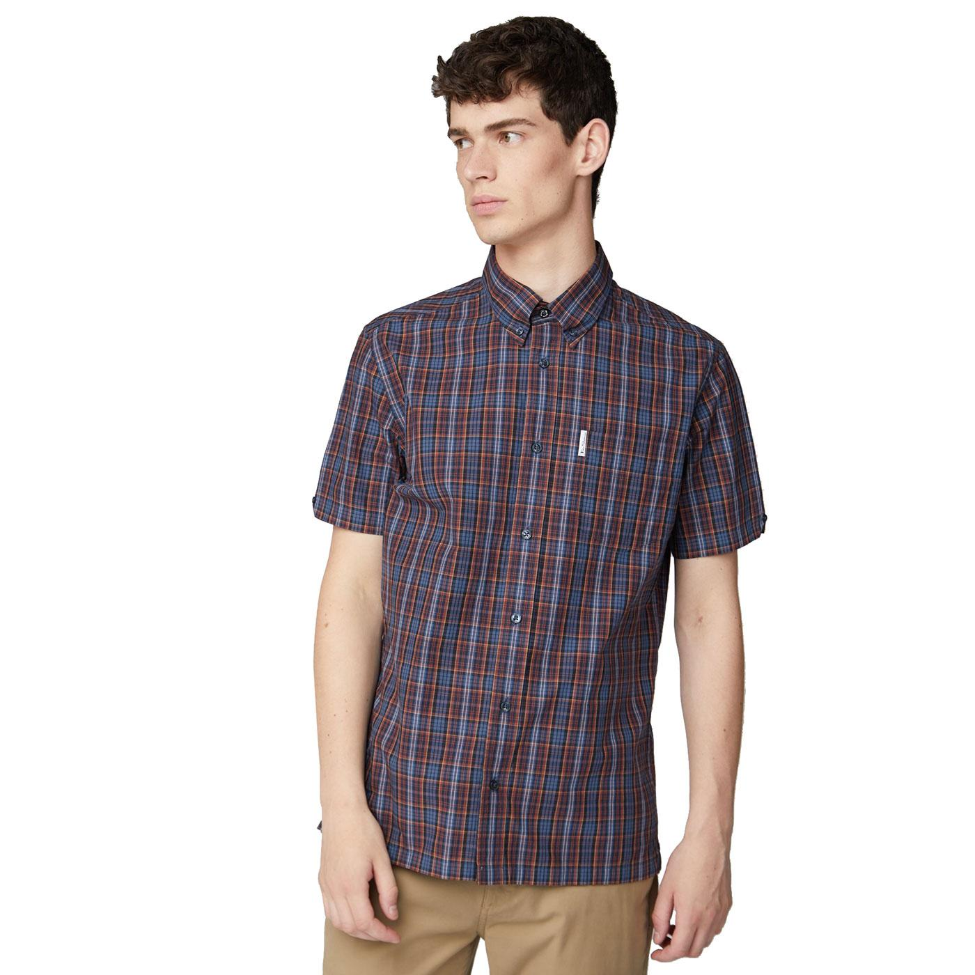 Carnaby BEN SHERMAN Retro 80's Archive Check Shirt