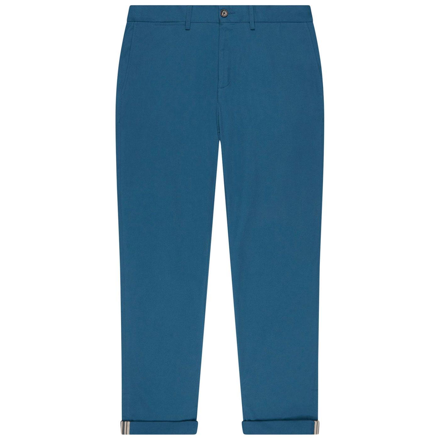 BEN SHERMAN Mens Signature Chino Trousers - Indigo