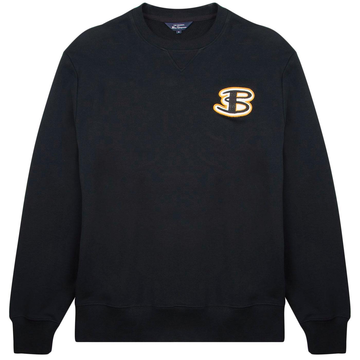 BEN SHERMAN Retro 90s Cornelli Logo Sweatshirt (B)