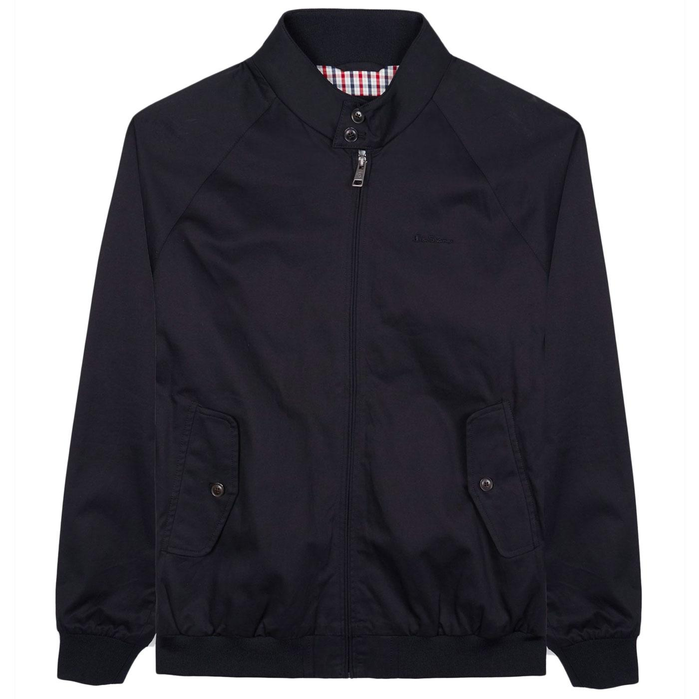 BEN SHERMAN Mod Signature Harrington Jacket (B)
